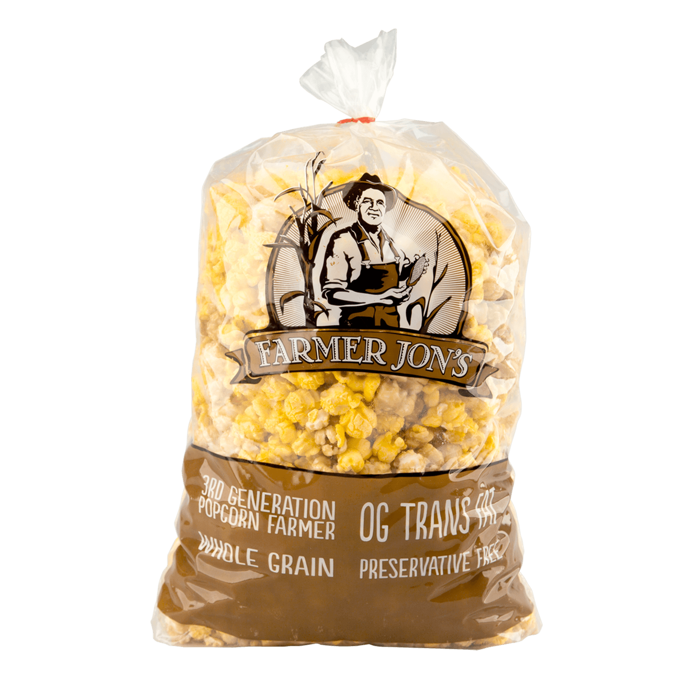 Farmer Jon's Caramel & Cheese Popped Popcorn - Large Size