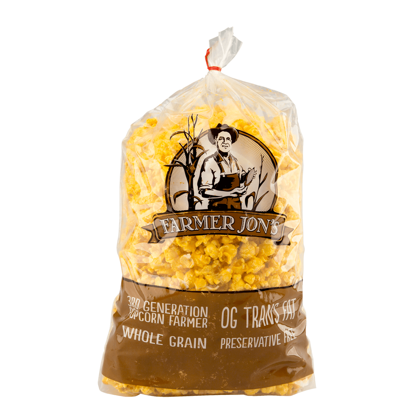 Farmer Jon's Cheese Popped Popcorn Cheese - Large Size