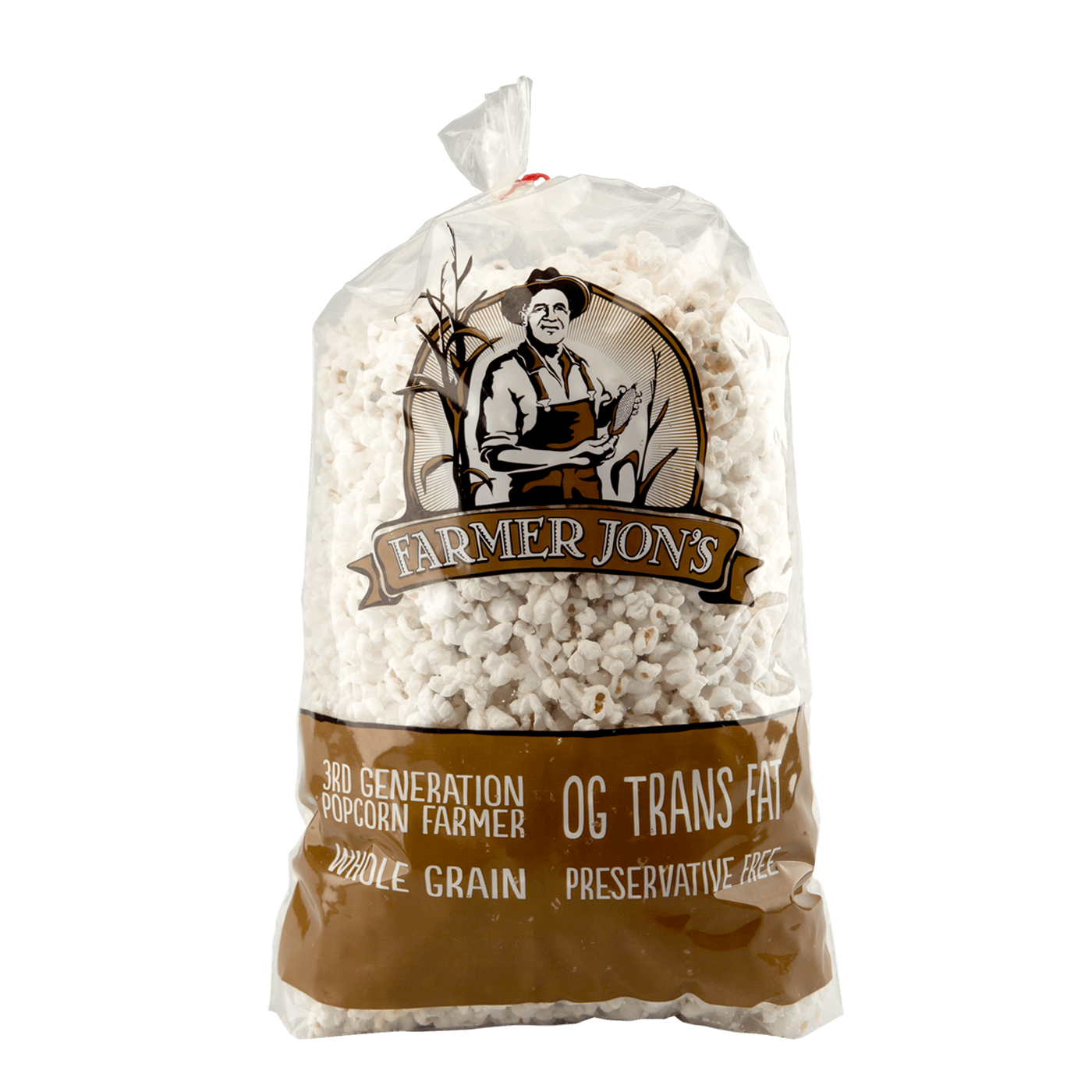Farmer Jon's Natural Popped Popcorn - Large Size
