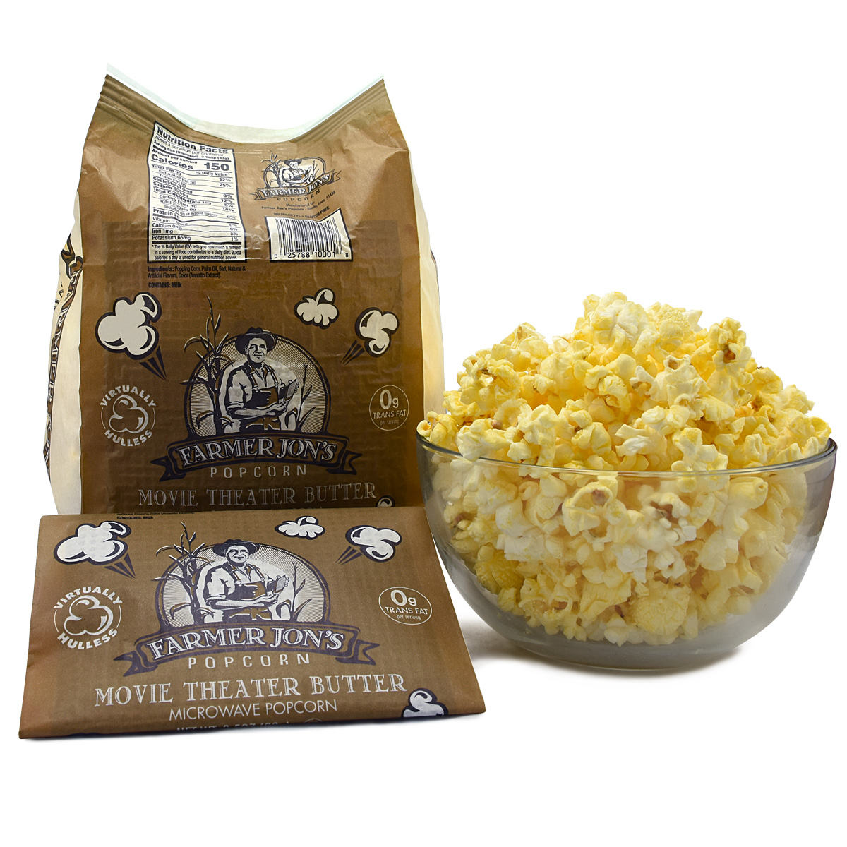 Movie Theater Butter 25pk Farmer Jon S Popcorn