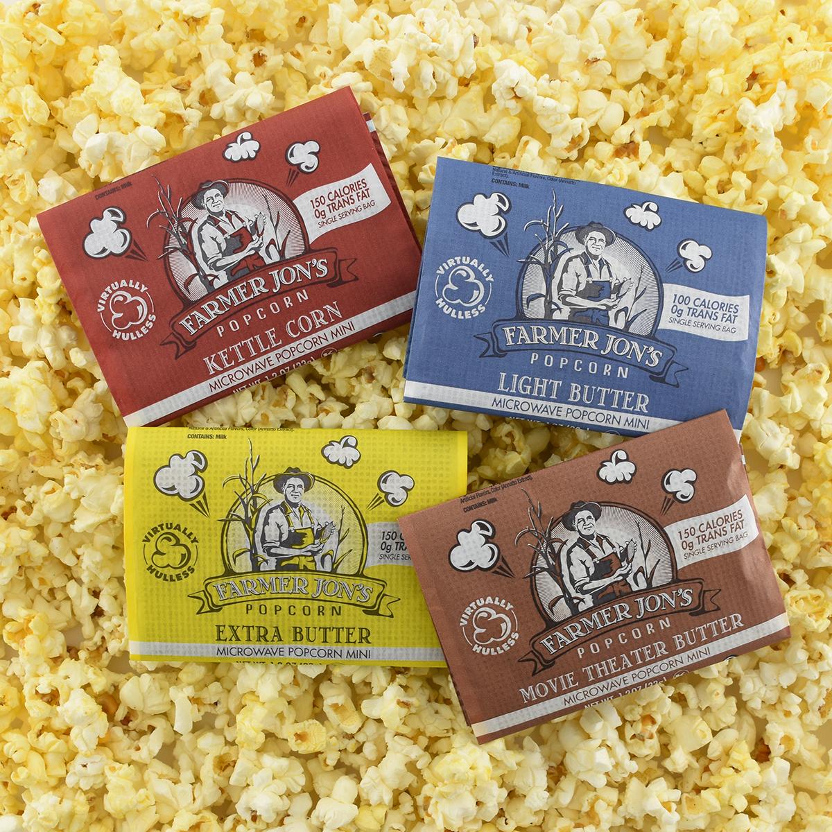 Mini Microwave Popcorn 4 Flavor Combo