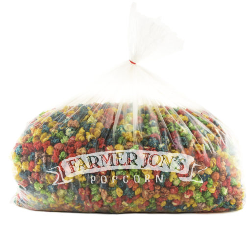 Colorful Caramel Popcorn Bash Bag