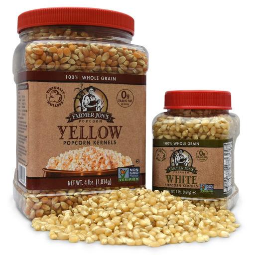 Raw Popcorn Kernels