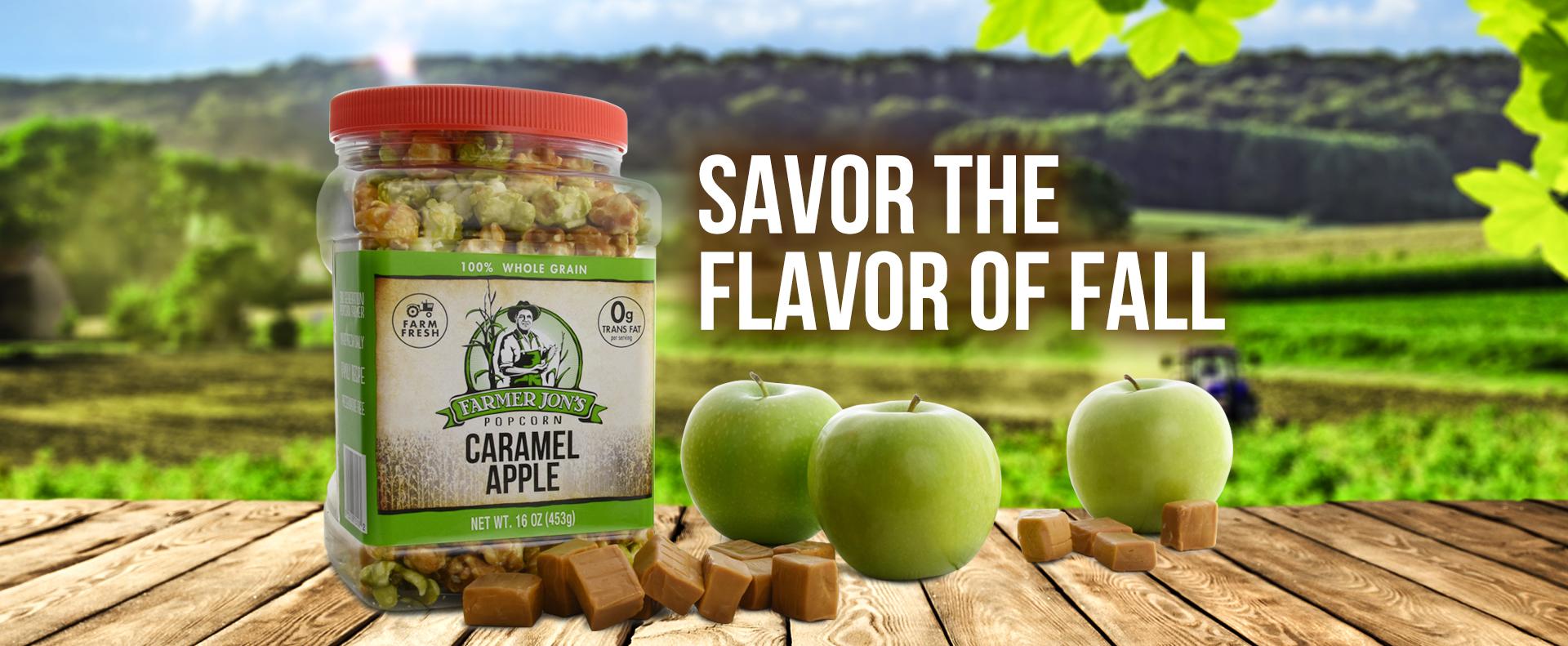 Savor The Flavor of Caramel Apple Popcorn