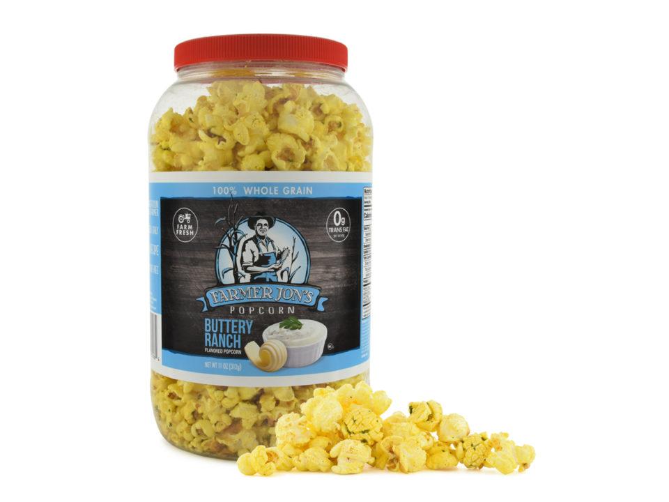 Buttery Ranch Popped Popcorn