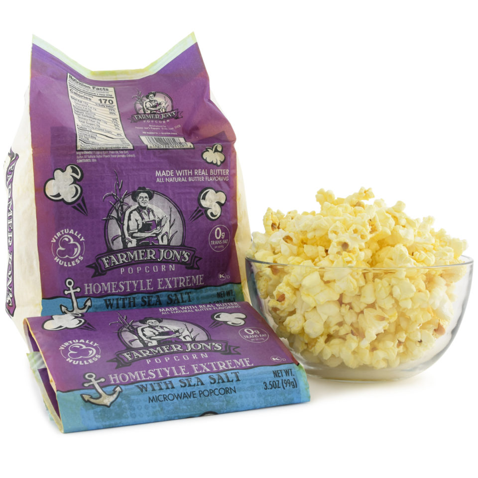 Homestyle Extreme with Sea Salt Microwave Popcorn
