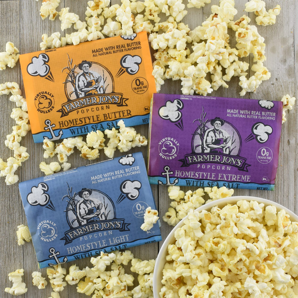 Homestyle Microwave Popcorn Combo Pack