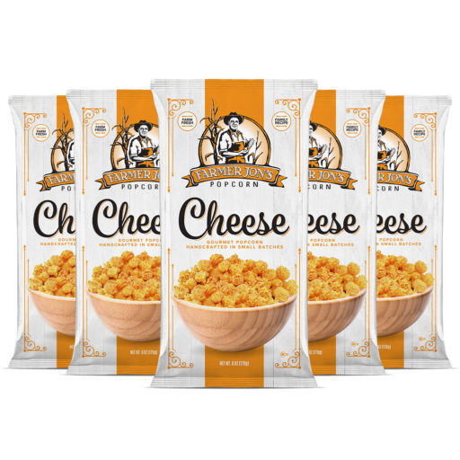 Cheddar Cheese Popcorn 6 Pack