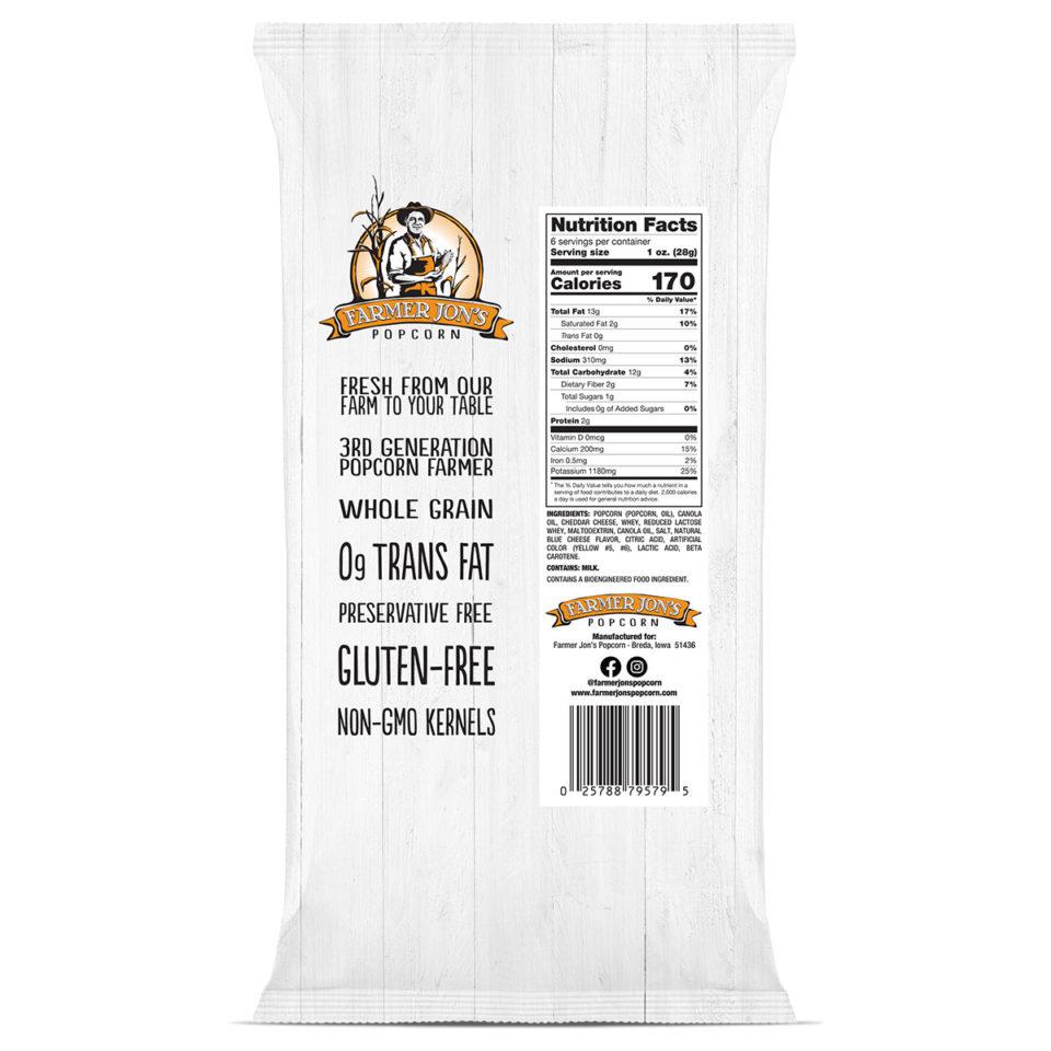 Cheddar Cheese Popcorn Nutrition